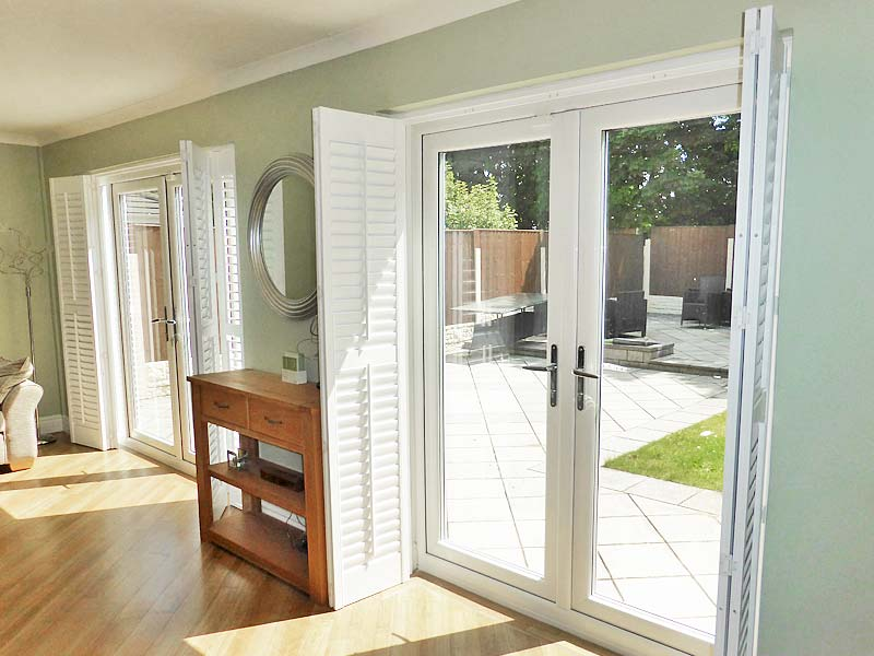 French Louvre Door Plantation Shutter