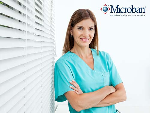 Microban Treated Window Blinds for Hospitals and NHS