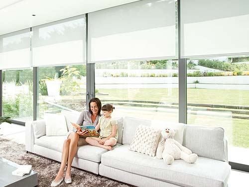 Somfy Motorised Blinds give you automated security and serenity