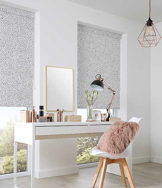 Polkadot Roller Blinds