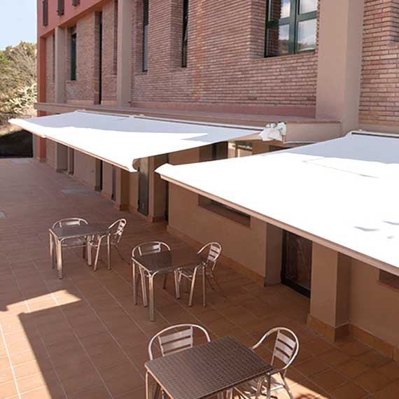 Bandalux Contract Awnings and Canopies from Perfect Blinds