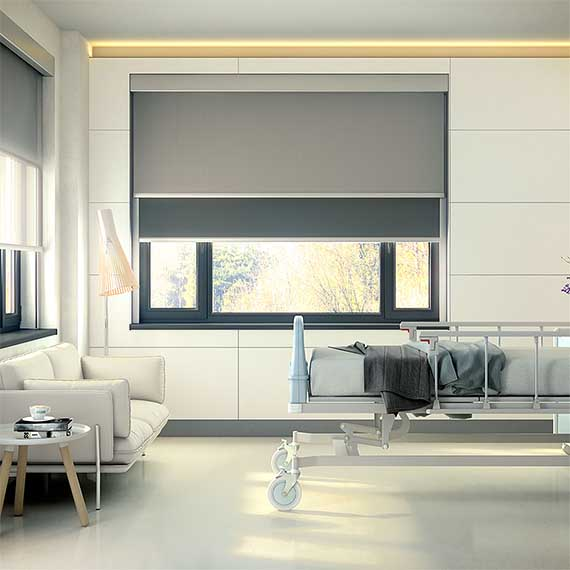 Bandalux B-Box Duo Roller Blind from Perfect Blinds