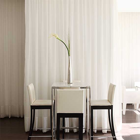 Bandalux Contract Draperies and Curtains from Perfect Blinds