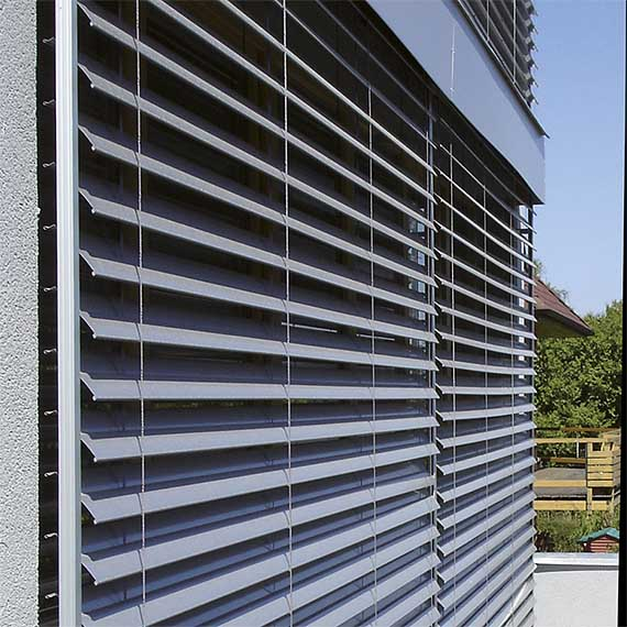 Bandalux Contract Outdoor Venetian Blinds from Perfect Blinds