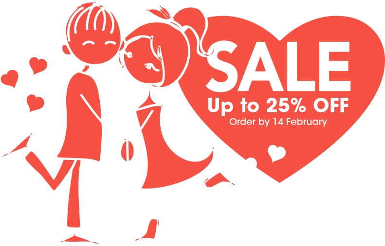 Save up to 25% OFF with the Love Blinds Sale at Perfect Blinds