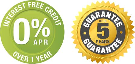 Interest Free Credit and unto 5 Years Guarantee on Plantation Shutters