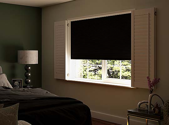 Image of Blackout Shutter blinds, North West UK by Perfect Blinds