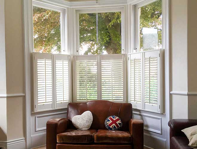 Image of Cafe Style Window Shutters, North West UK by Perfect Blinds