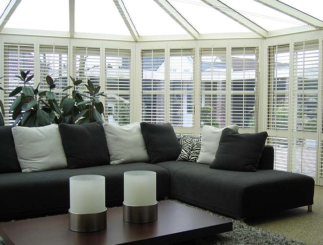 Image of a Conservatory Plantation Shutter, North West UK by Perfect Blinds