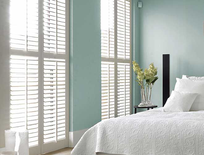 Image of a Full Height Wood Shutter, North West UK by Perfect Blinds