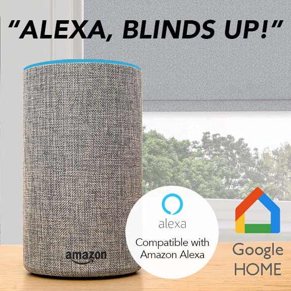 Motorised Blinds WITH Alexa