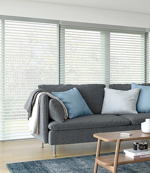 Visage blind in Living room